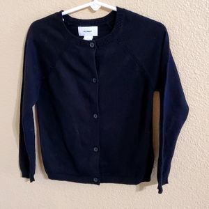 Old Navy Black Cardigan Size 5T